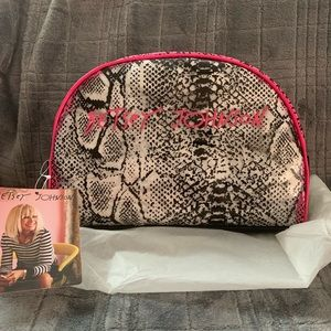 Betsey Johnson Crystal Clear Dome Bag